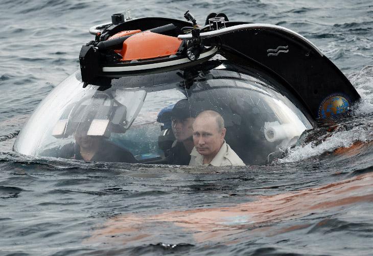Путин и батискаф: технические подробности