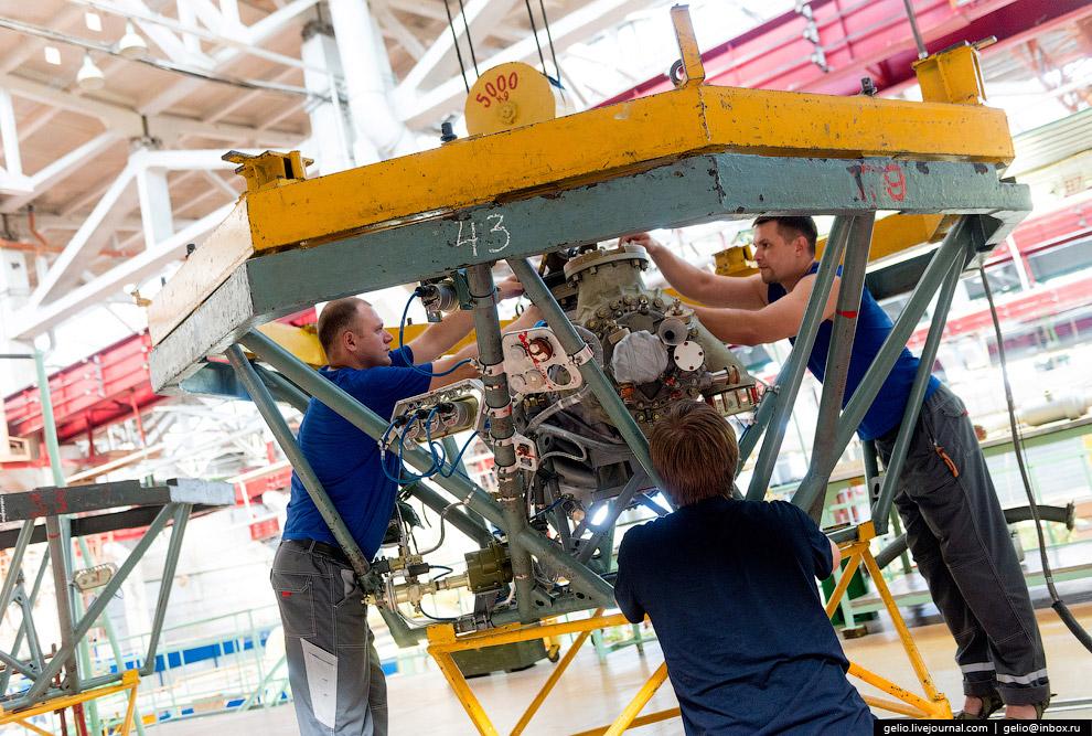 Производство ракетных, авиационных и наземных двигательных установок