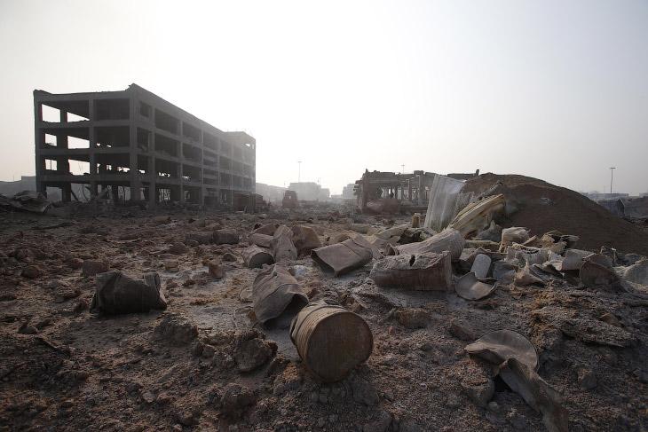 Взрыв в Китае
