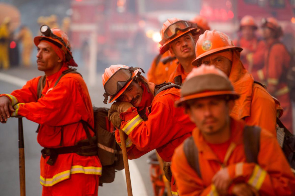 Пожарные, Калифорния