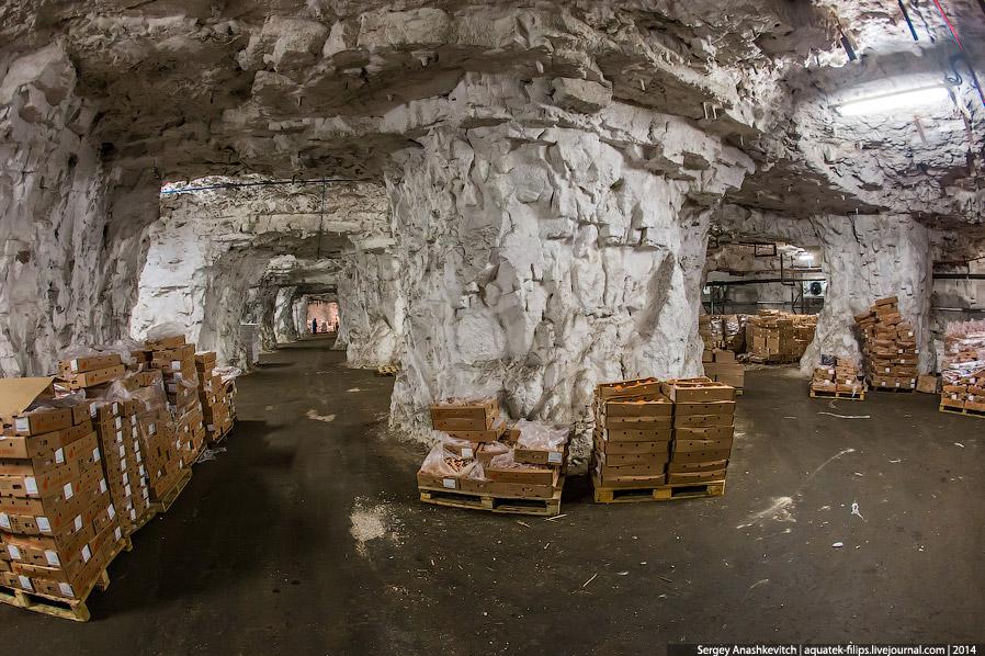 Мега-сооружения СССР: гигантский подземный холодильник
