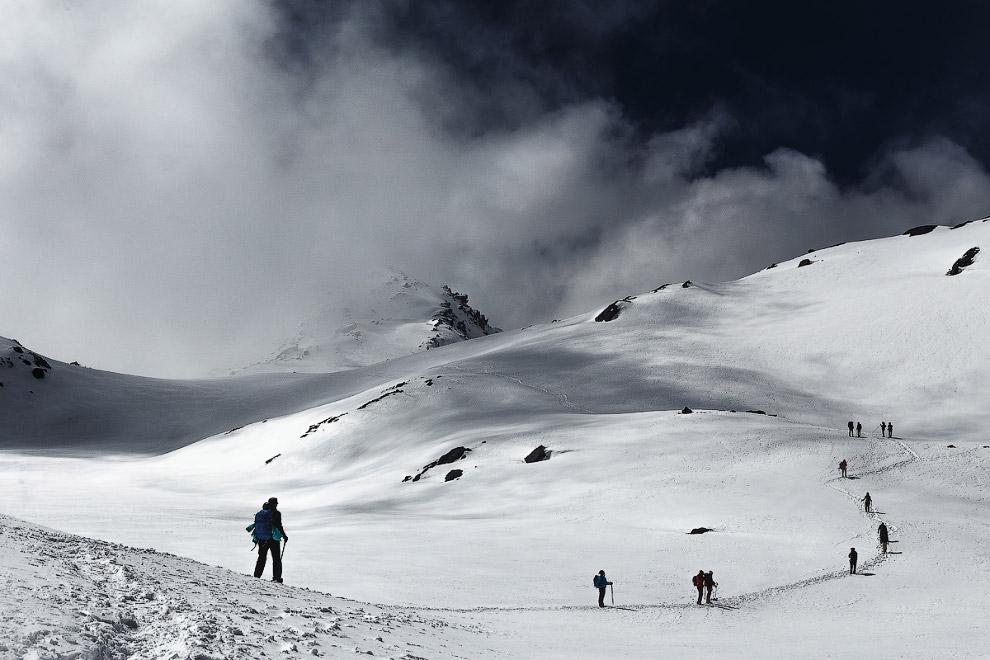 Путь на перевал Лауребина
