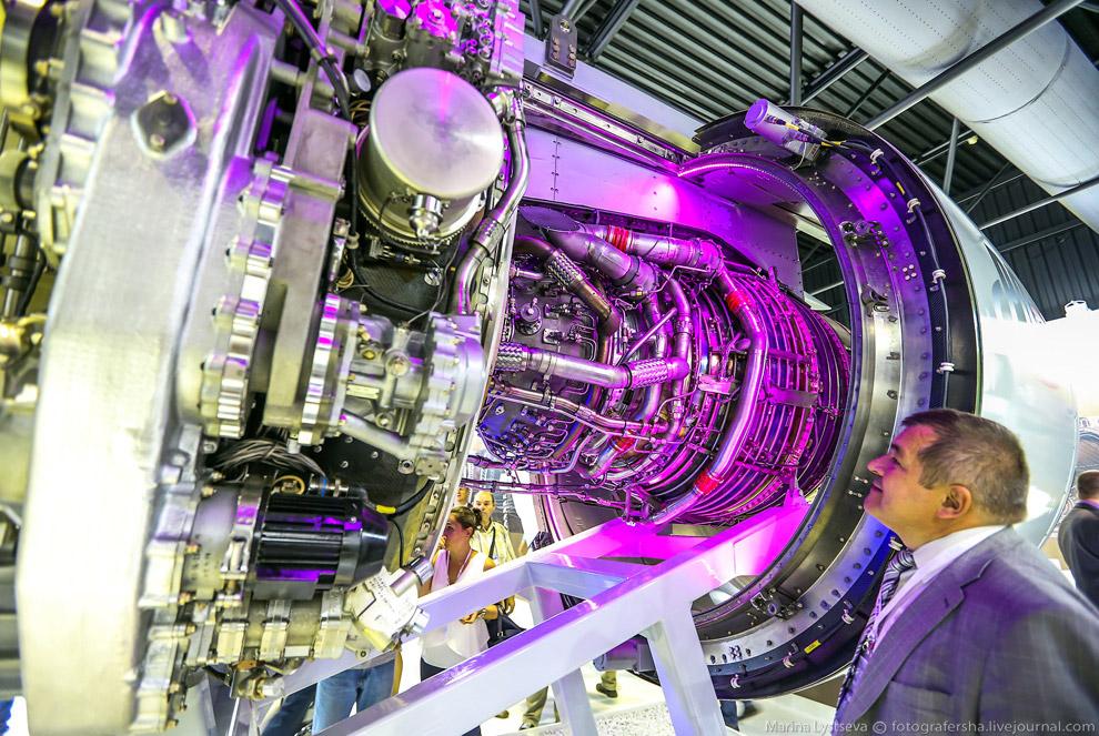 Перспективный двигатель для самолета МС-21-300