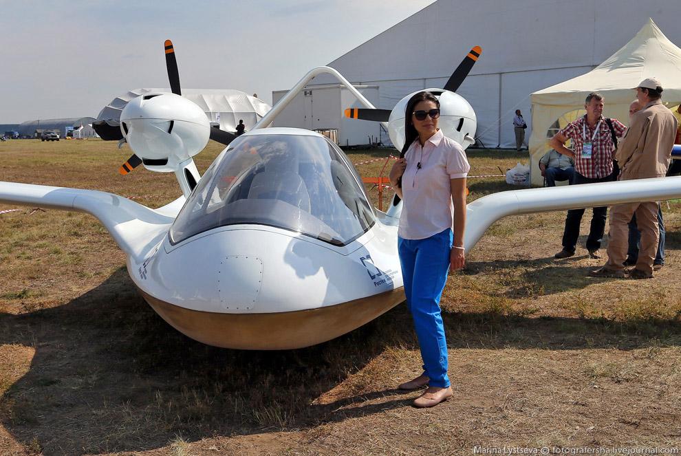 Самолёт-амфибия «ЧИРОК»