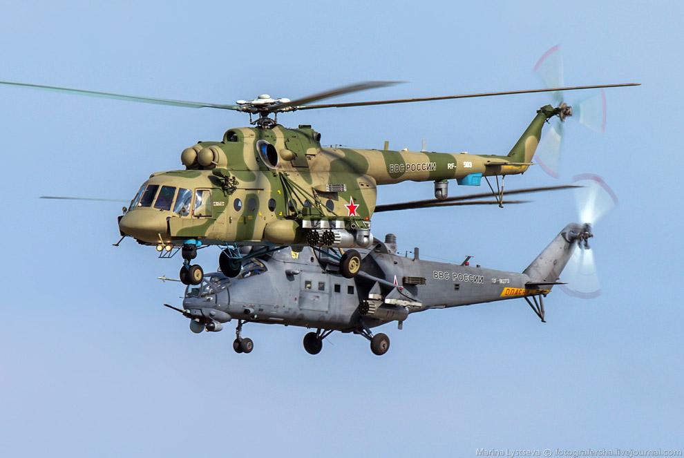 Ми-171Ш и Ми-35