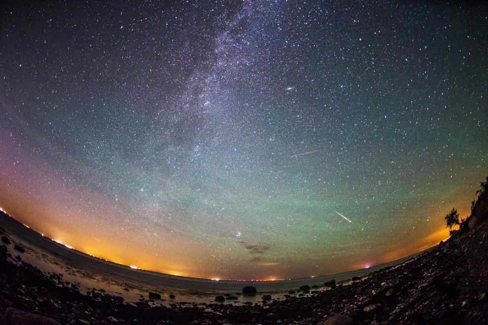 Звездопад или метеорный поток Персеиды
