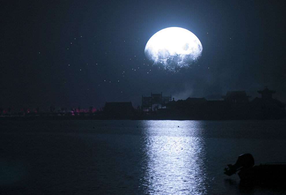 Луна в Китае