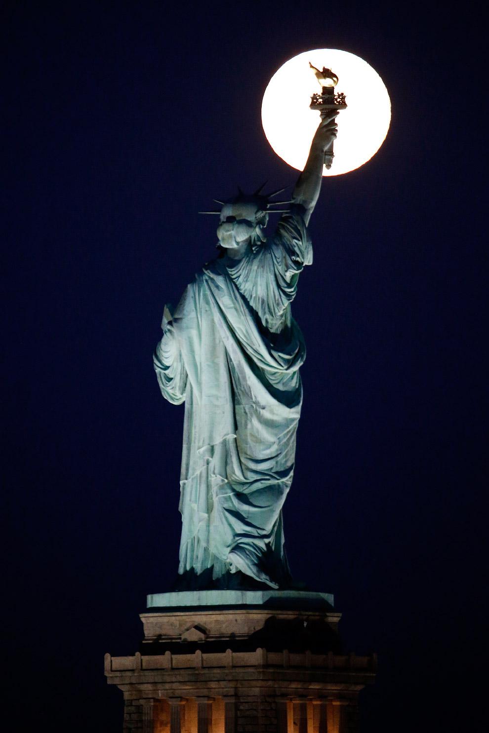 Голубая Луна в Нью-Джерси