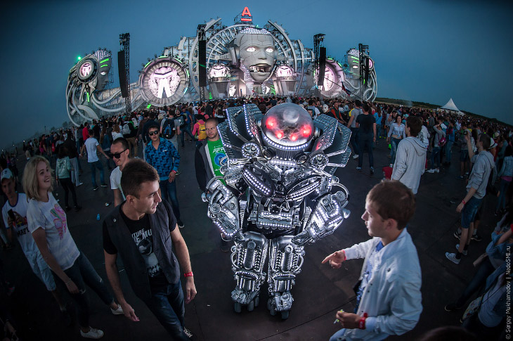 Фестиваль электронной музыки и технологий в Нижнем Новгороде