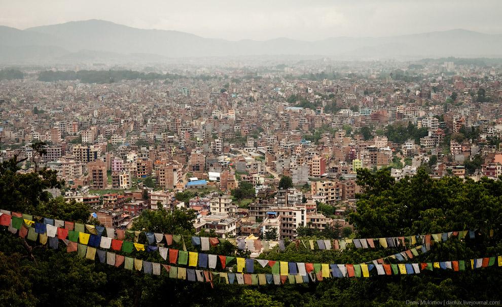 вид на Катманду