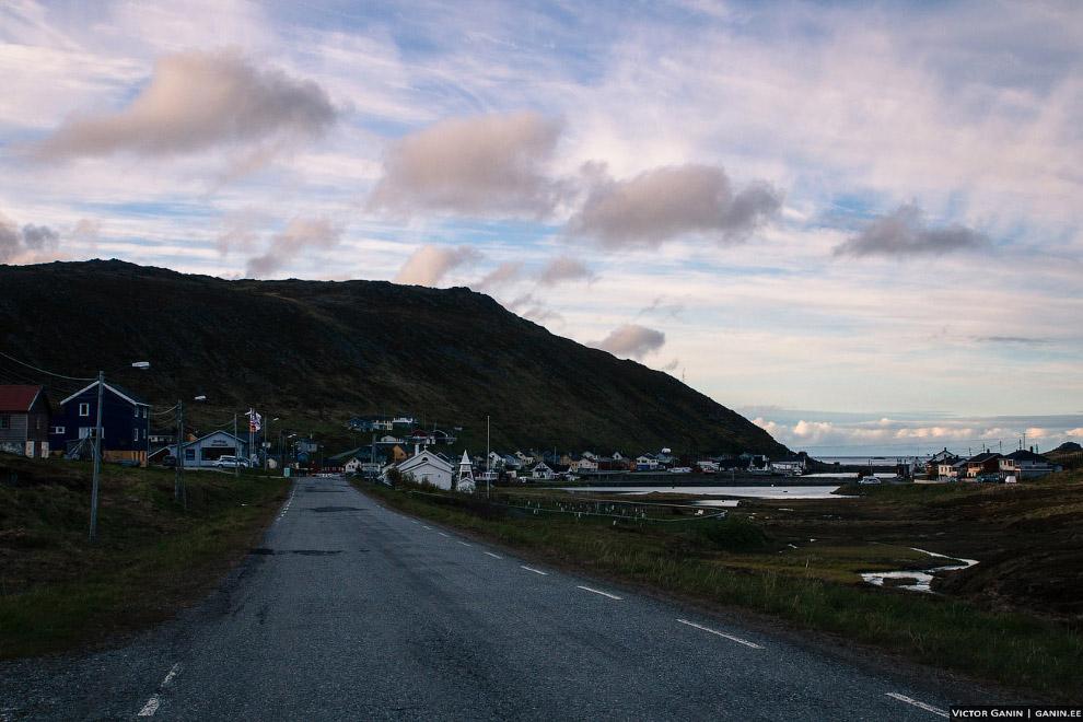 Посёлок Skarsvåg - одно из самых северных поселений в мире.