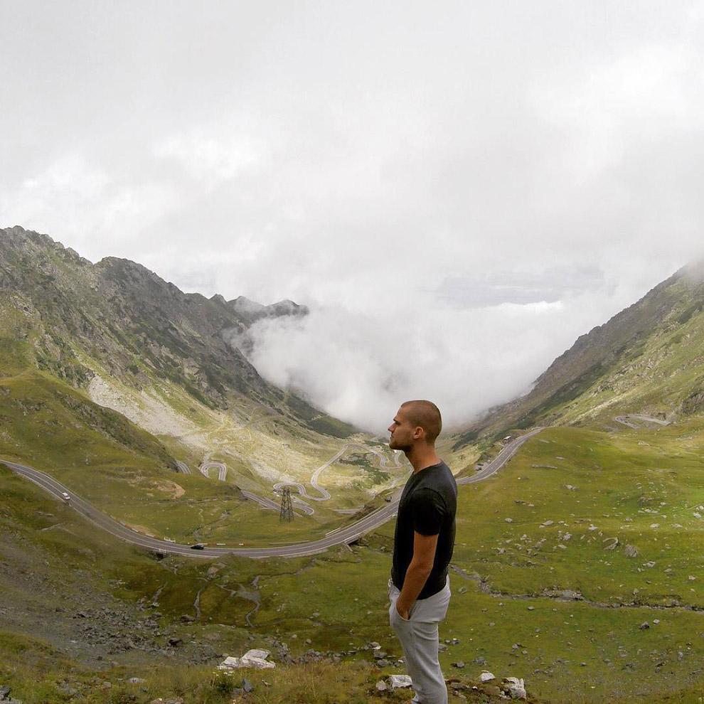 Один из самых опасных и самых красивых горных перевалов в Европе — Трансфагарасан в Румынии