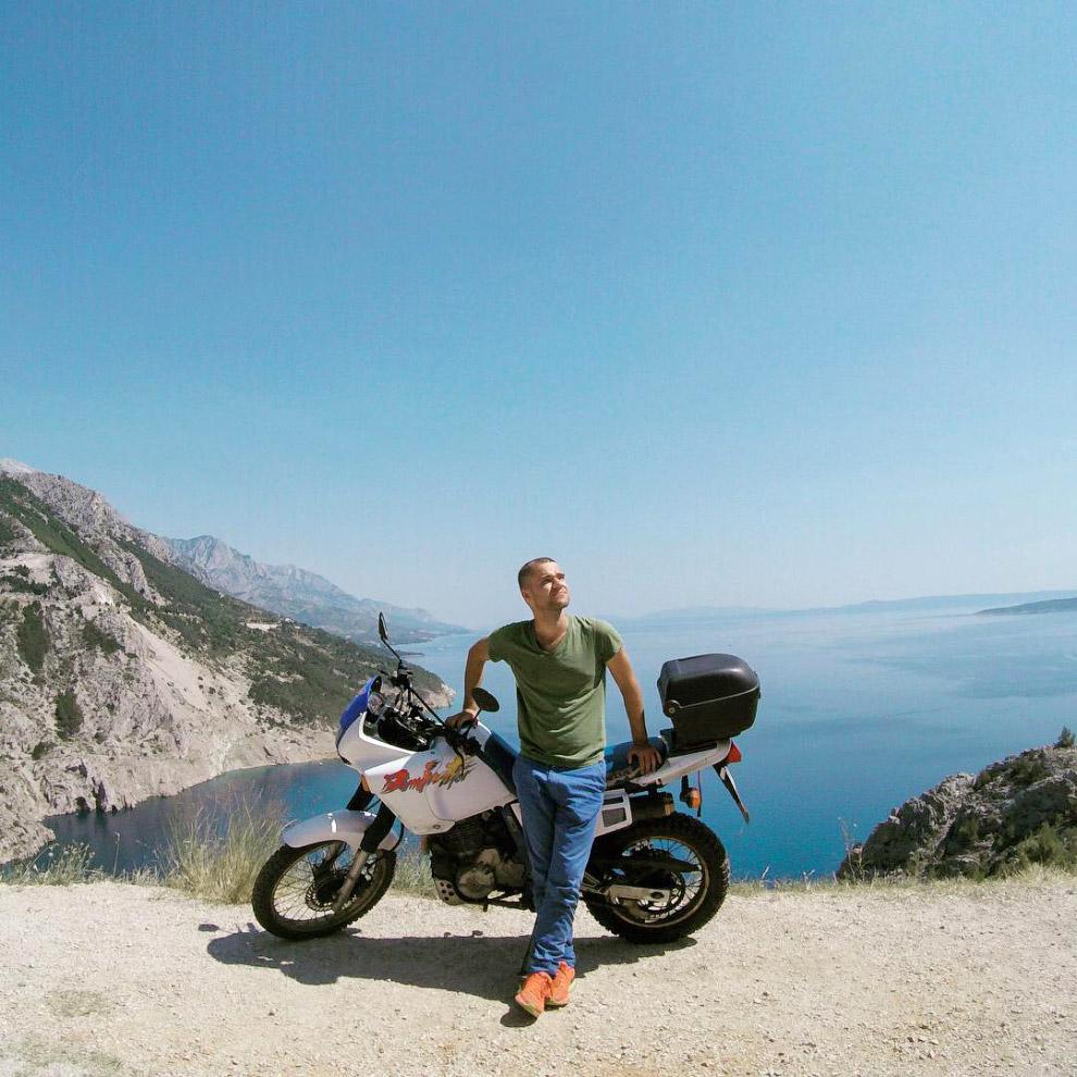 8 000 километров по Балканам в полном одиночестве