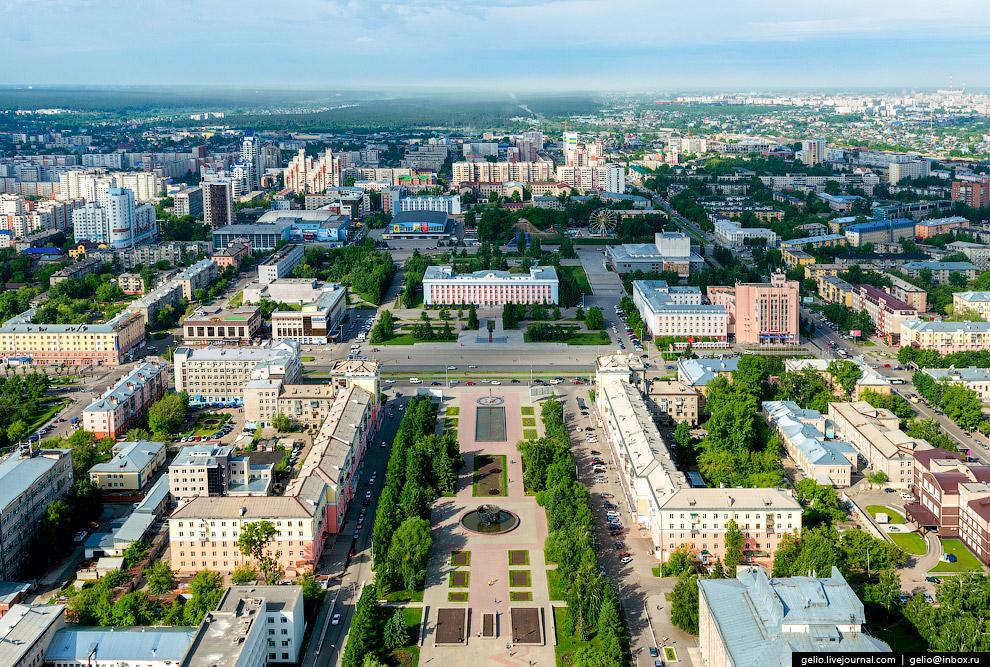 Площадь Ветеранов, Обской бульвар и площадь Советов.