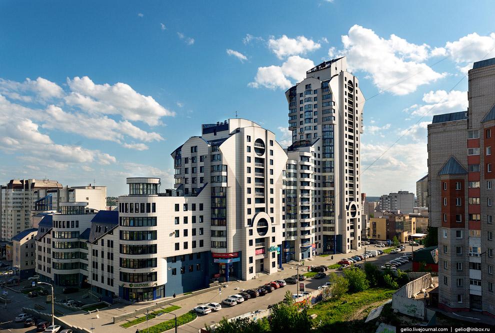 ЖК «Анастасия» — самое высокое здание Барнаула