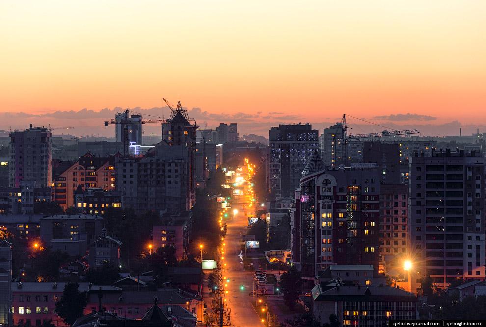 Комсомольский проспект.