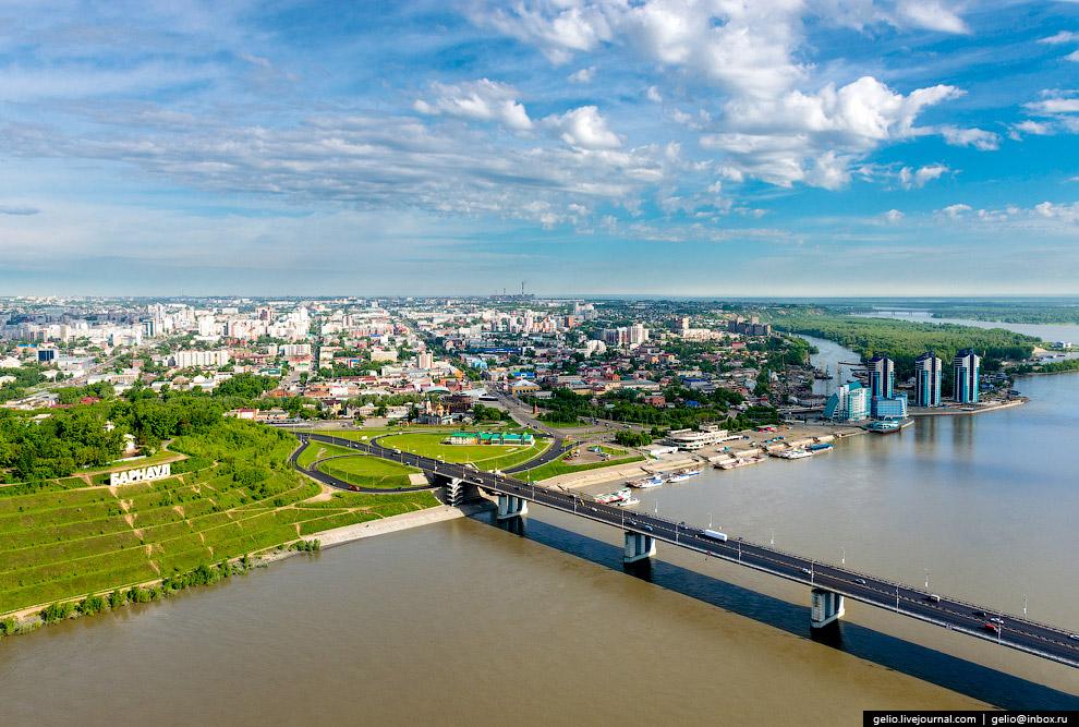 Новый мост через р. Обь