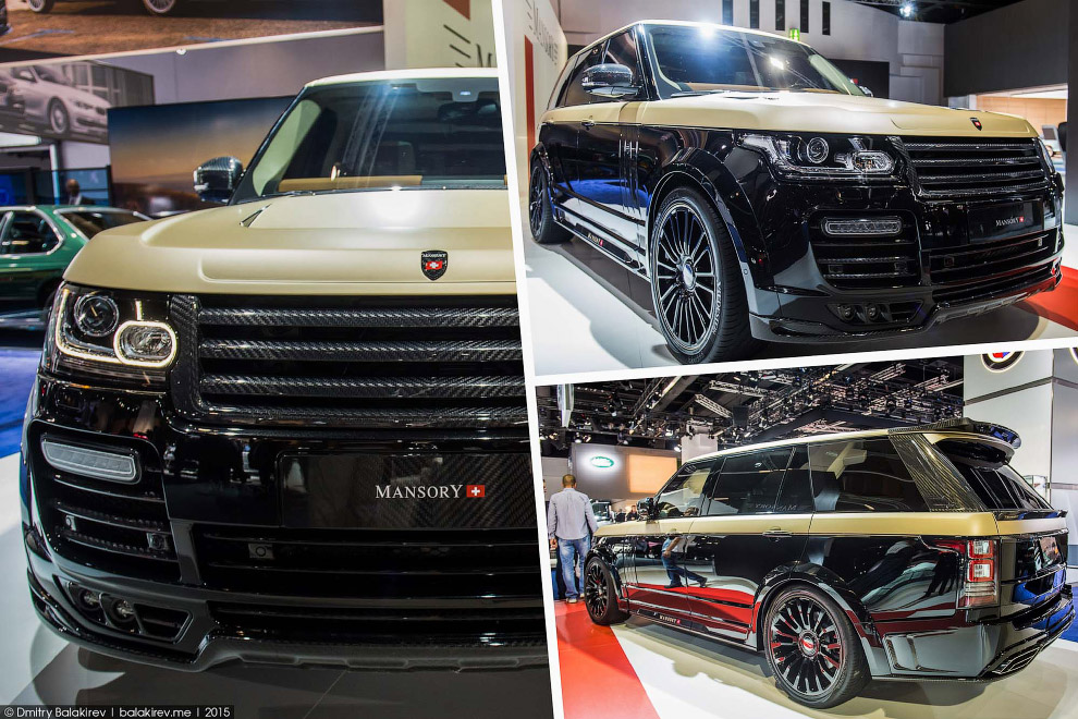 Range Rover Autobiography Extended