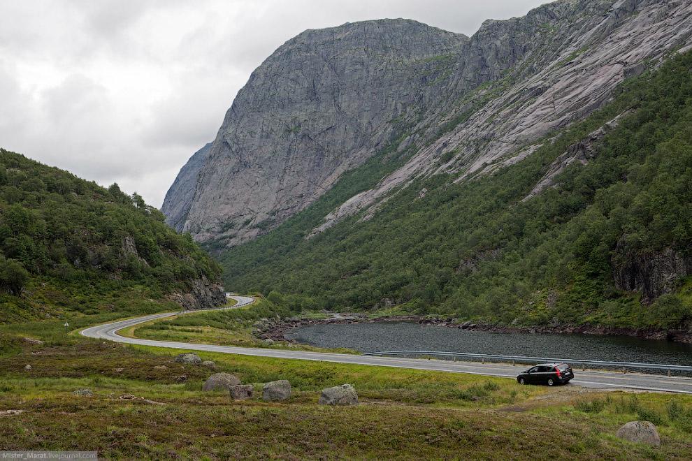 Приключения в горах Норвегии