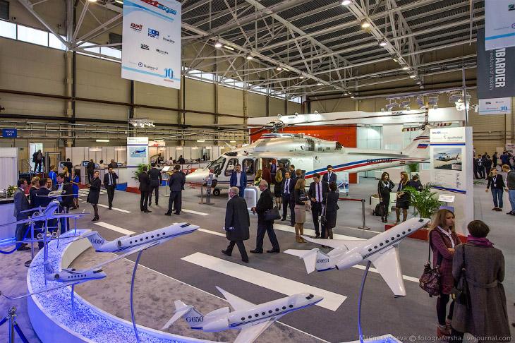 Jet Expo 2015: новинки бизнес авиации