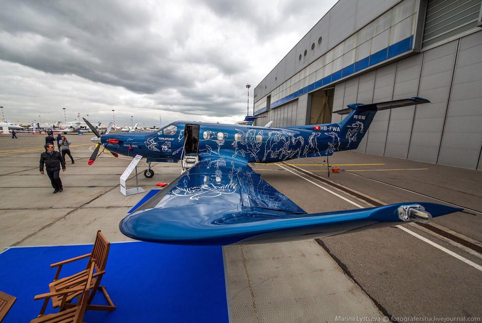 Турбовинтовой Pilatus PC-12