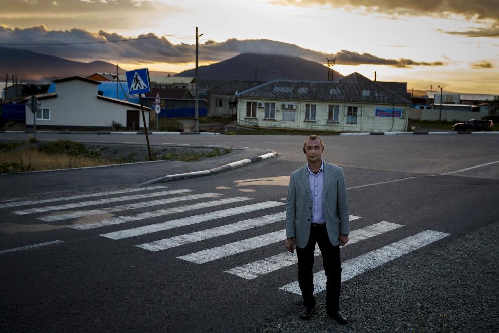 Директор Дома русско-японской дружбы, Южно-Курильск, остров Кунашир