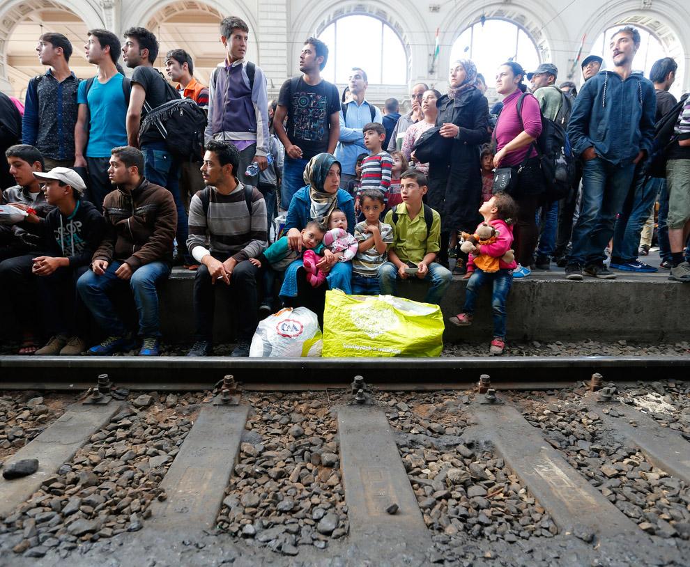 Томительное ожидание поезда.