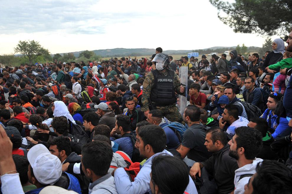 Граница Греции и Македонии