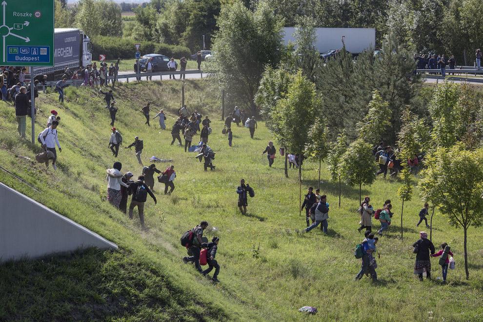 Пересечение границы Греции и Македонии