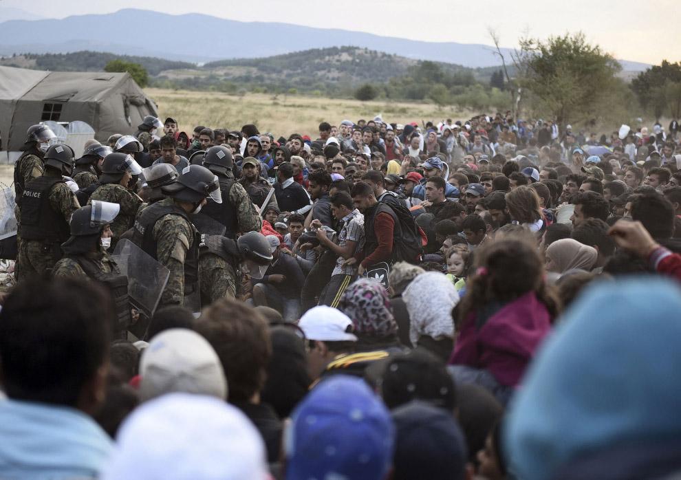 На границе с Македонией
