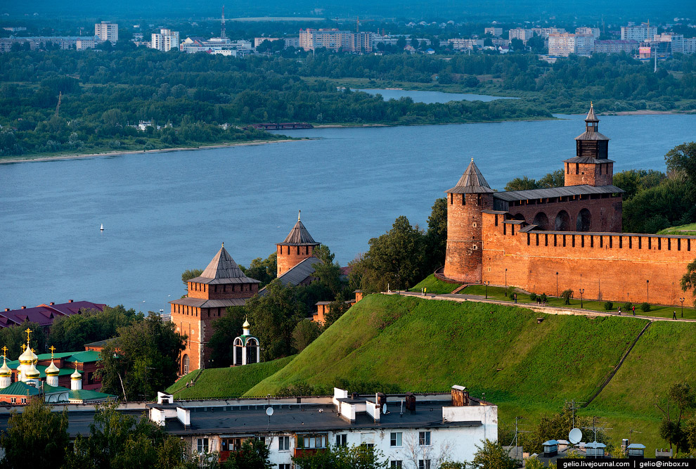 Нижегородский Кремль — основная достопримечательность города