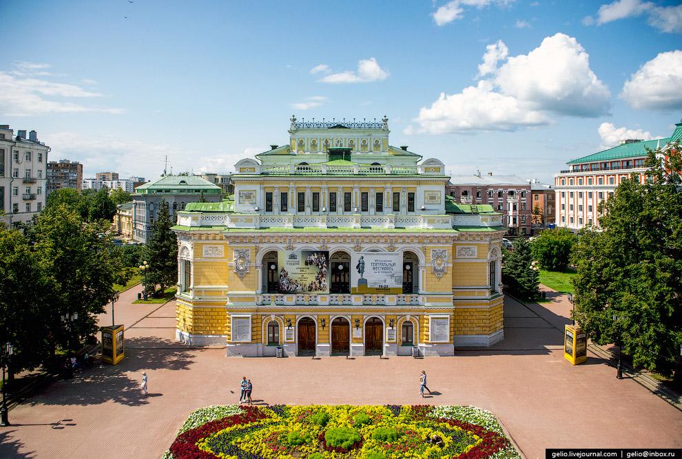 Театр драмы им. М.Горького — один из старейших русских театров.