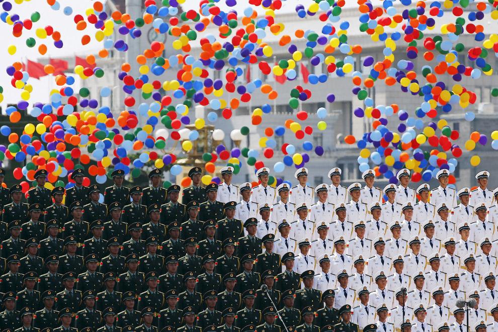 Парад в Китае в честь 70-летия окончания Второй мировой войны