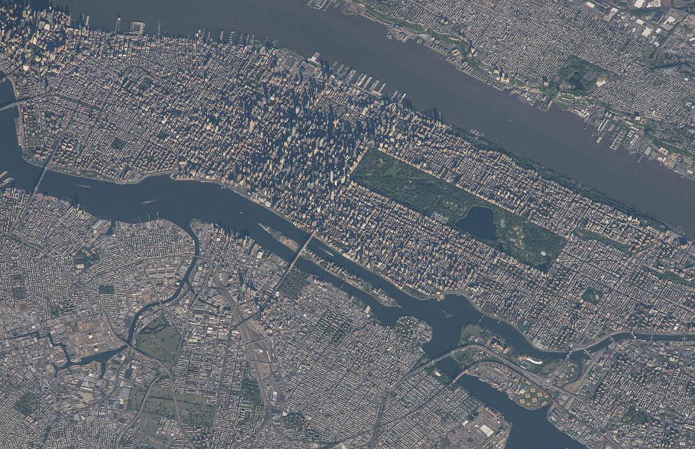 Нью-Йорк с МКС