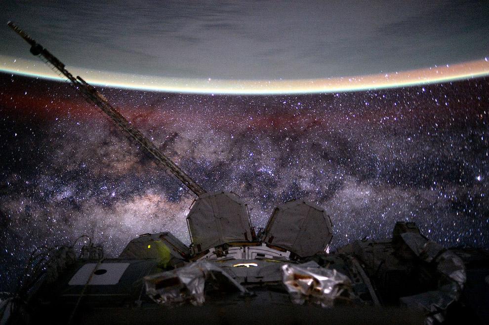 Млечный путь из космоса