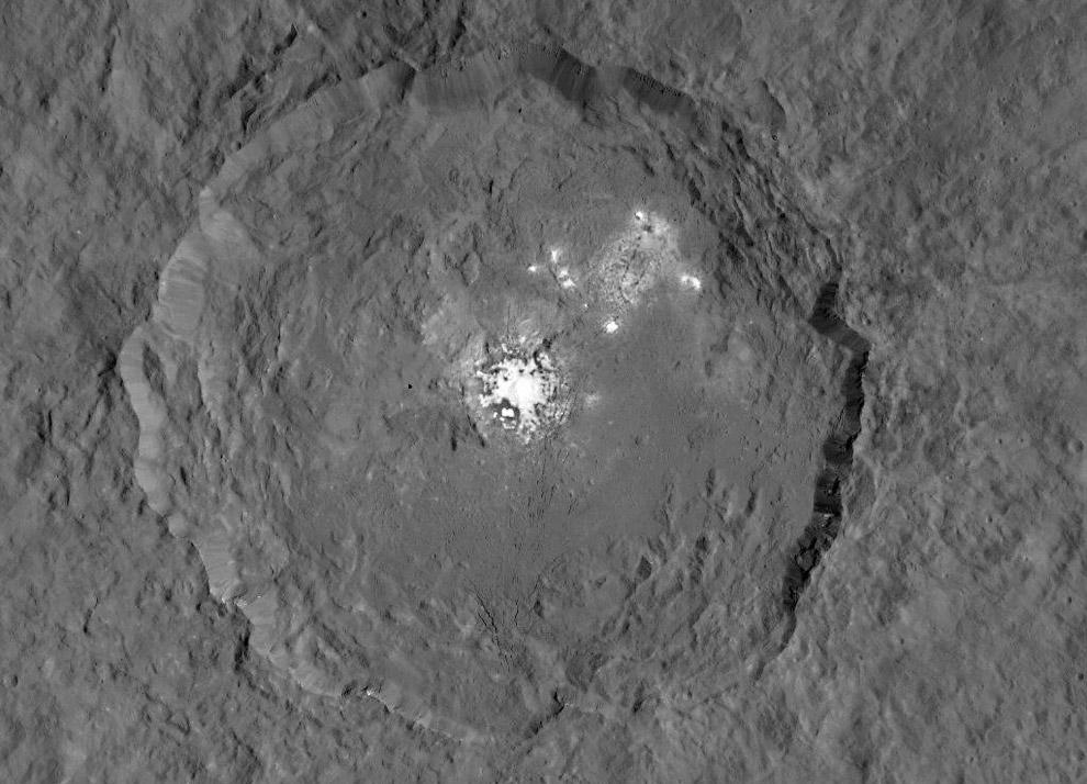 Церера — карликовая планета в поясе астероидов внутри Солнечной системы