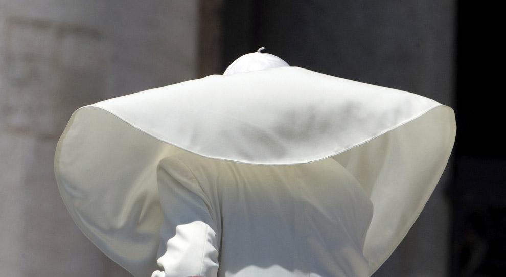 Франциск на на площі Святого Петра у Ватикані