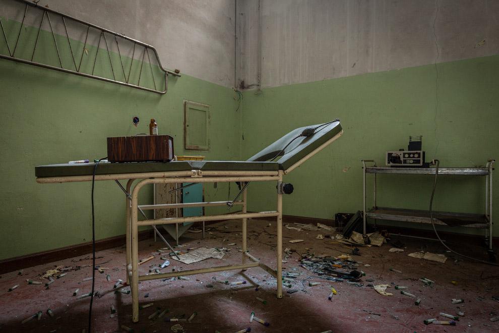 Комната, где проходило психиатрическое лечение