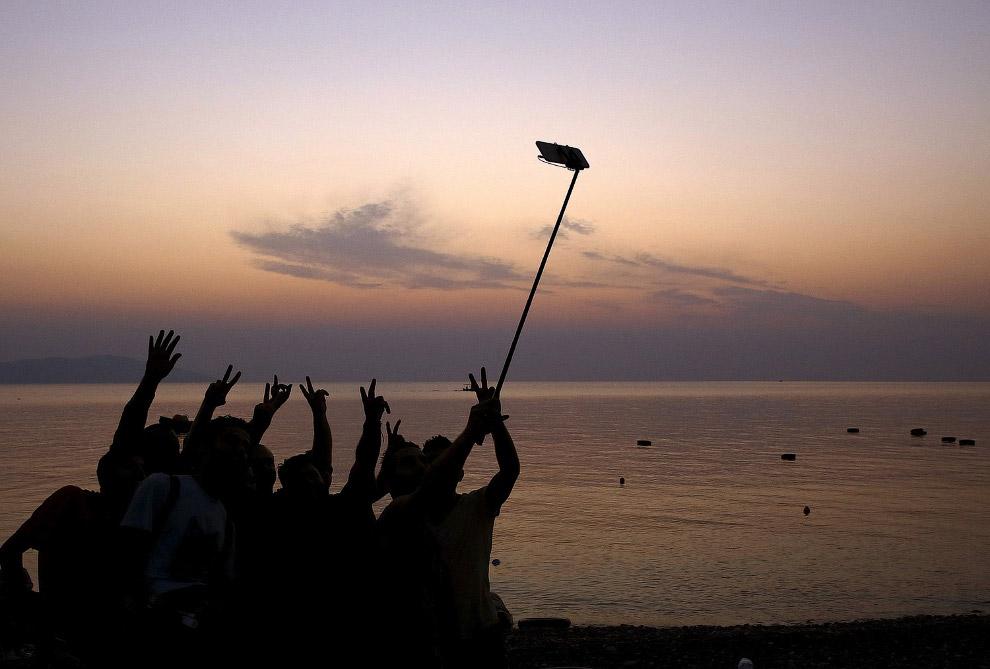 Удачный кадр на закате в Турции