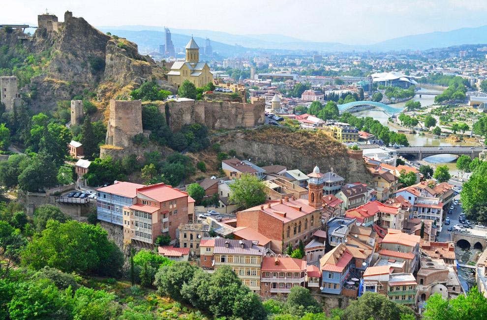 Нарикала — крепостной комплекс различных эпох в Старом Тбилиси