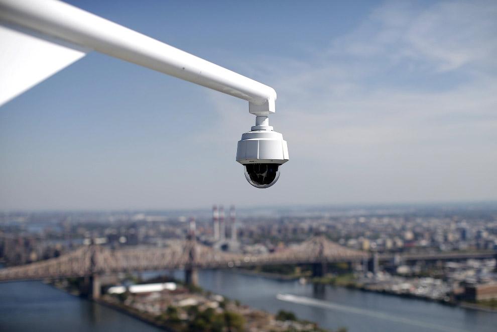Вид на Нью-Йорк со здания Секретариата ООН