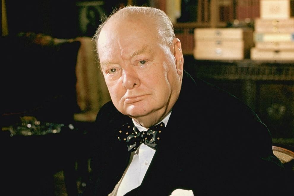 Главный идеолог «Холодной войны» Черчилль
