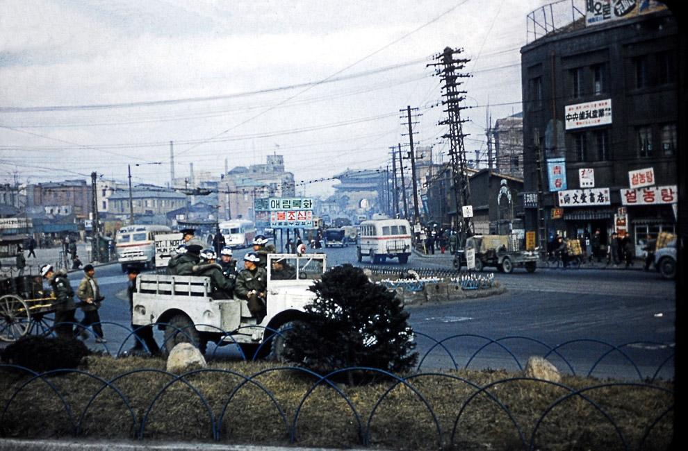 Послевоенный Сеул 1955 года