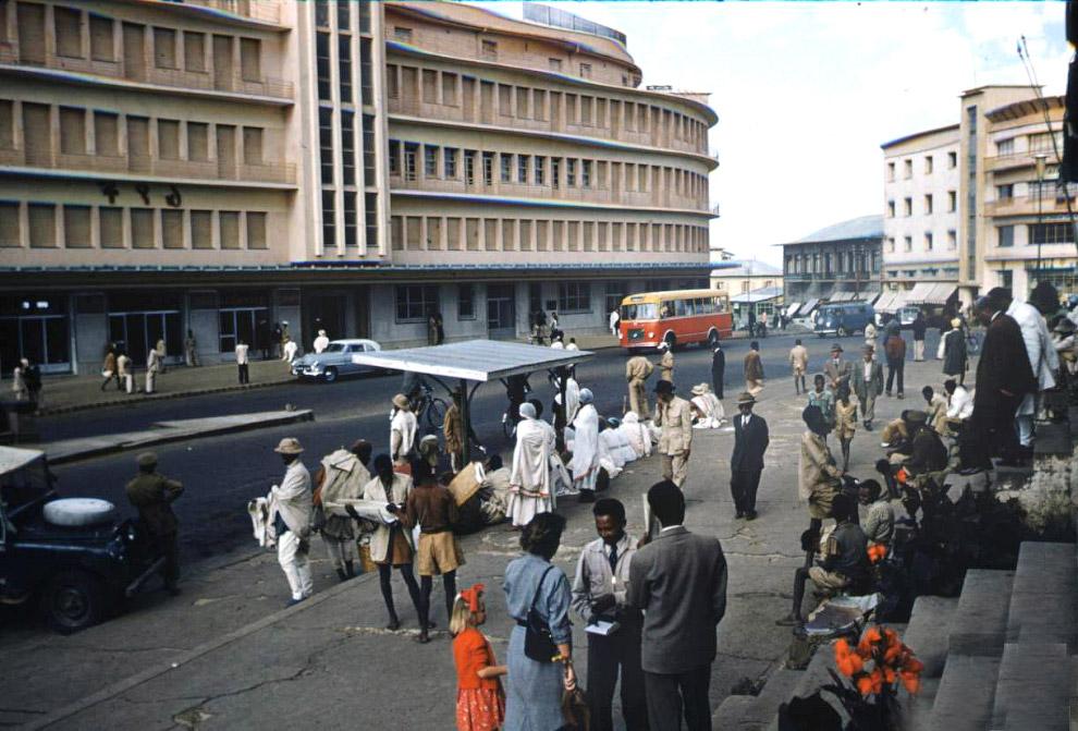 Эфиопская столица Аддис-Абеба 1955-го
