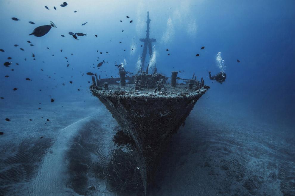 На месте кораблекрушения
