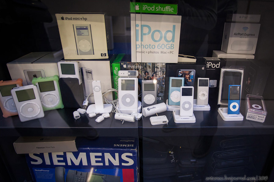 Коллекция iPod'ов