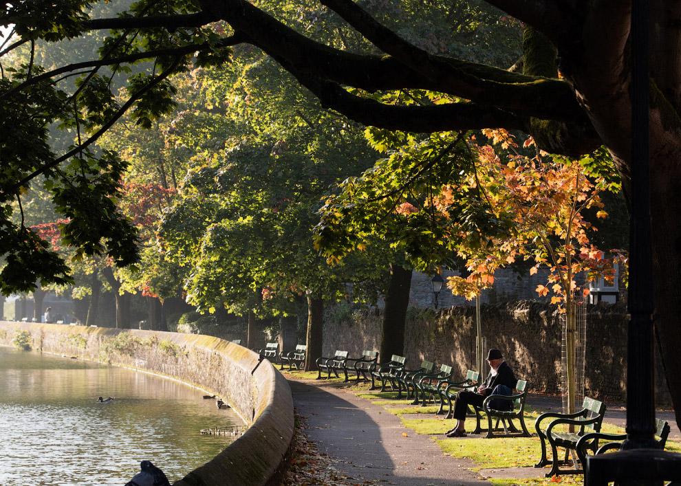 Осенний день в Уэллсе, Англия