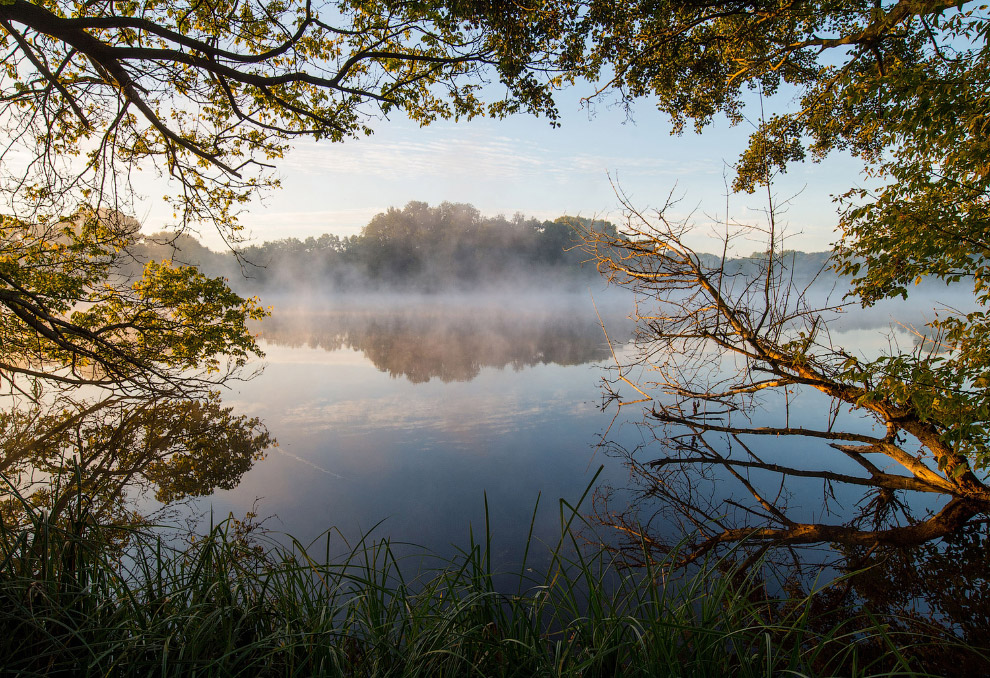 Осенний утренний туман, Германия