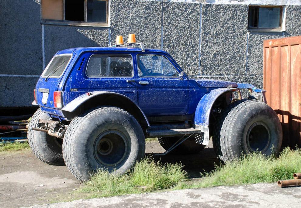 ВАЗ-2121 «Нива» в Тикси
