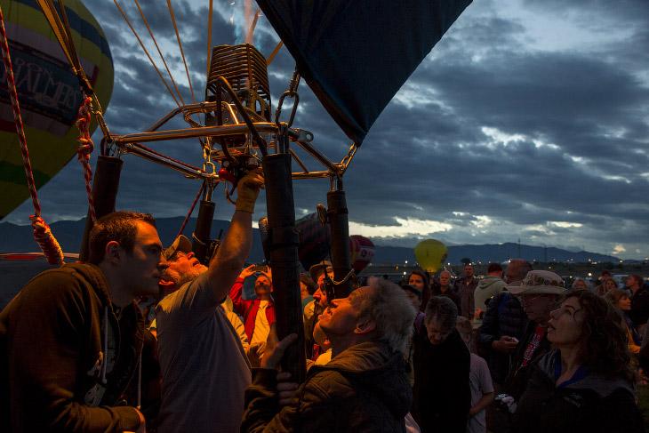 Фестивалей воздушных шаров в Альбукерке